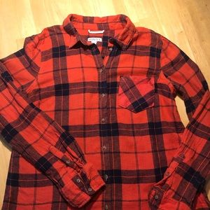 Merona Flannel Women's Short Size M